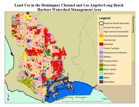 Lands In Los Angeles by Dominguez Channel And Los Angeles Harbors Wma