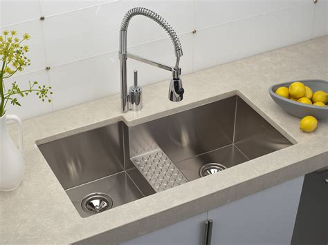 best kitchen sink choosing modern stainless steel kitchen sinks with high