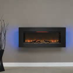 Electric Wall Mounted Fireplace Classicflame 47 In Felicity Wall Hanging Electric Fireplace 47ii100grg