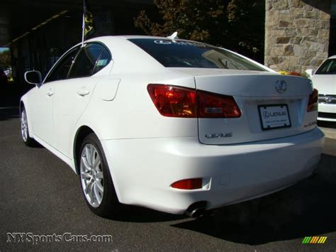white lexus is 250 2008 2008 lexus is 250 awd in starfire white pearl photo 4