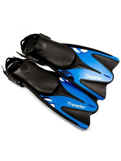 Tas Snorkling Cressi Compact Blue sea dive traveler snorkeling fins