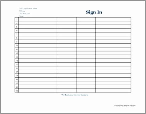 security sign in sheet template inspirational printable aa sheets aa