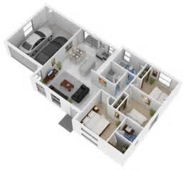 3d Printed House Floor Plan 3d Floor Plans Floor Plan Brisbane By Budde Design