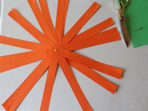 How To Make A Paper Lantern Step By Step - pumpkin lantern diy craft