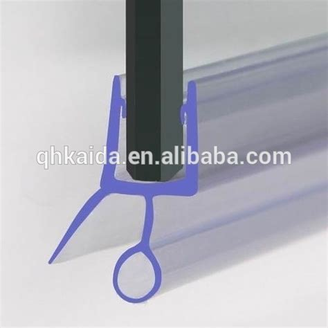 rubber glass door edge protection shower door rubber seal