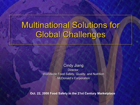 what are some challenges faced by developing countries international business mcdonalds international business