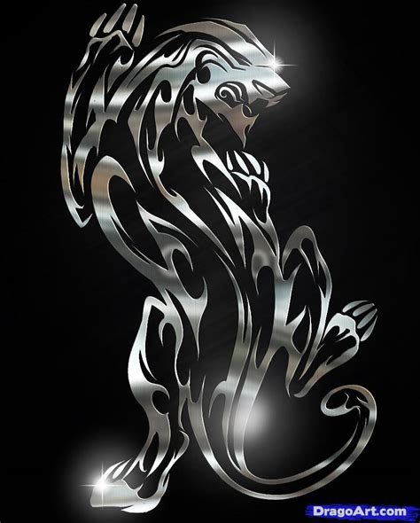 panther tattoo tribal panther images designs