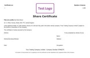 Share Certificate Template Uk 13 Share Stock Certificate Templates Excel Pdf Formats