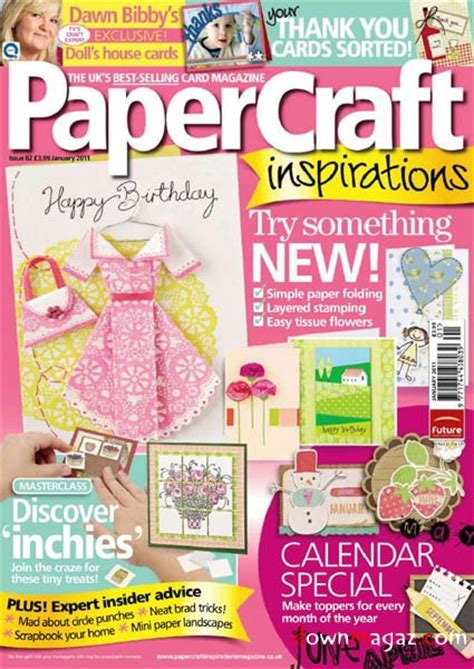 Paper Craft Magazine - papercraft inspirations january 2011 187 pdf