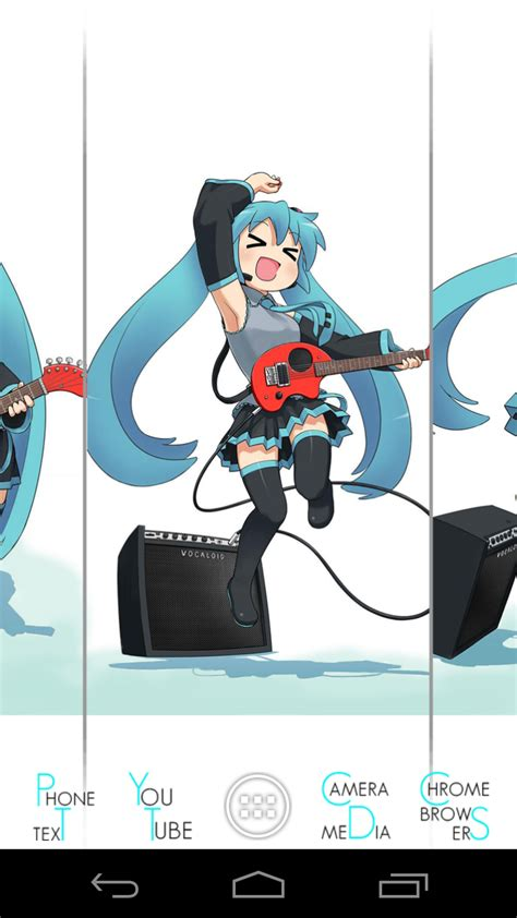 theme line android miku hatsune miku theme android by cqs3a on deviantart