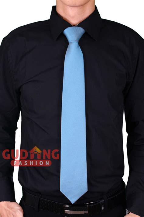 Dasi Formal Pria Motif Garis dasi pria stylish keren motif kotak kecil satin biru muda tie 387 gudang fashion