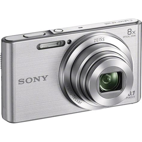 Sony W830 Silver sony dsc w830 cyber 20 1mp 2 7 inch lcd digital