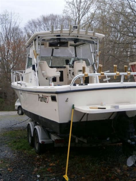 used parker boats in maryland 98 parker 25ft fishing boat threw husband out now his