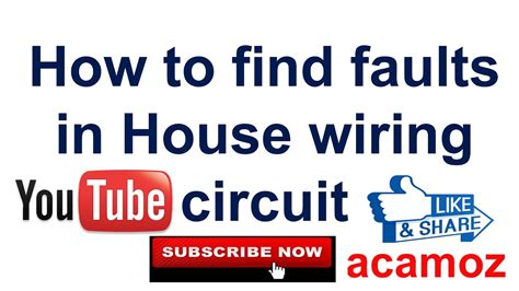 how to find a short circuit in house wiring learning to find short circuit fault hindi urdu how to find faults in house