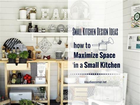 small kitchen design ideas how to maximize space - How To Maximize A Small Kitchen