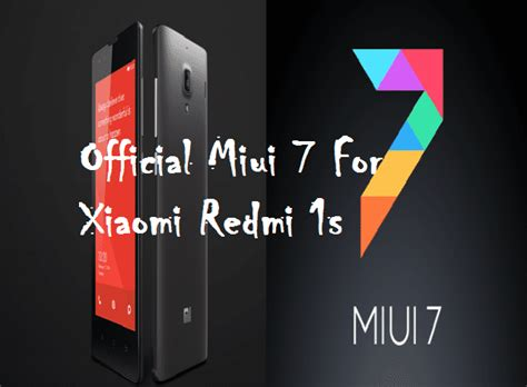 english themes for redmi 1s official miui 7 lolipop for xiaomi redmi 1s