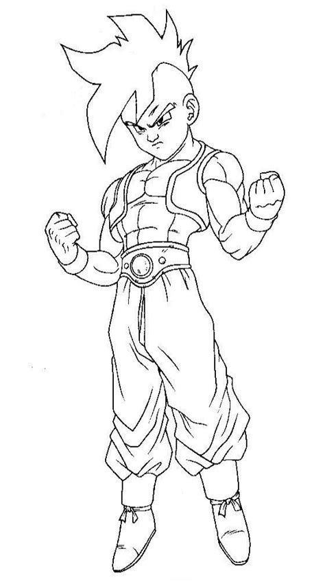 imagenes blanco y negro dragon ball z dragon ball z para colorear pintar e imprimir