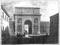largo di porta san pancrazio apre il museo di porta san pancrazio