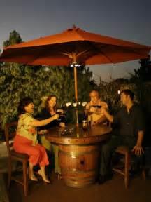 Wine Barrel Patio Table Glen S Wine Barrel Tables Vintage Wine Barrel Furniture
