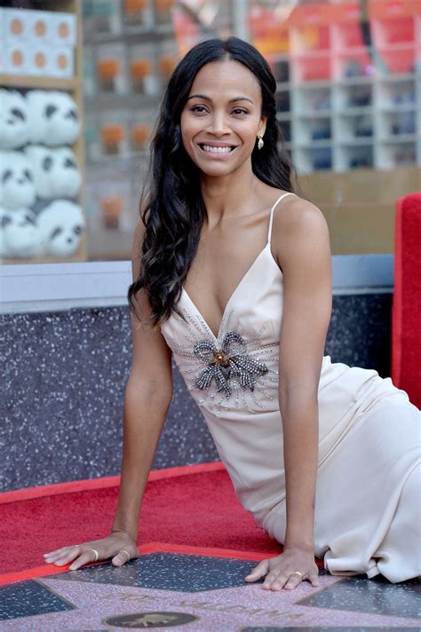 hollywood actress zoe saldana zoe saldana honored with a star on the hollywood walk of