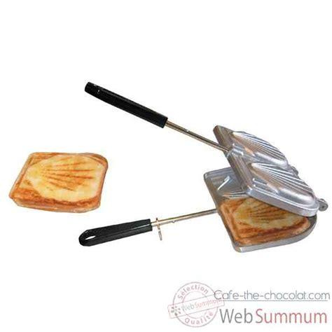 Grille Croque Monsieur by Sefama Toaster Croque Monsieur Fonte Alu 403730
