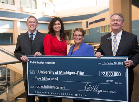 Um Flint Receives U S by Of Michigan Flint School Of Management Receives