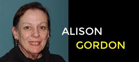alison gordon a tribute to alison gordon