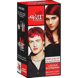 splat hair dye colors splat semi perm hair color walmart
