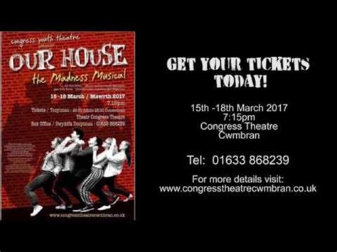 our house the madness musical congress youth theatre our house the madness musical