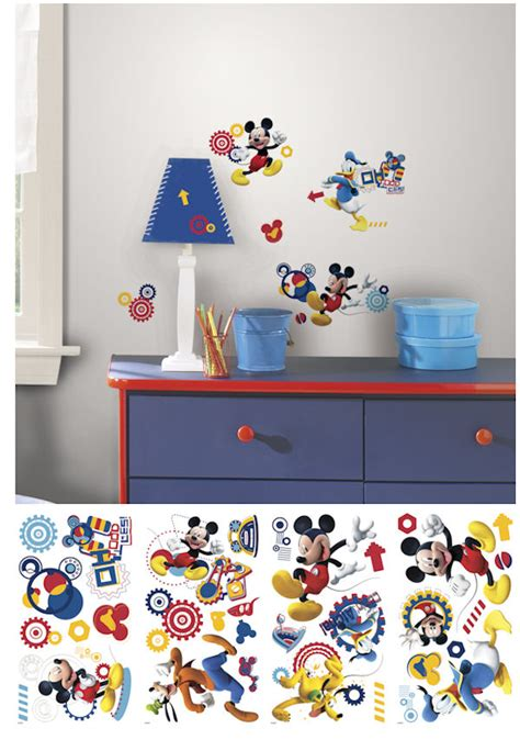 mickey mouse clubhouse wall mural mickey mouse clubhouse capers wall decals