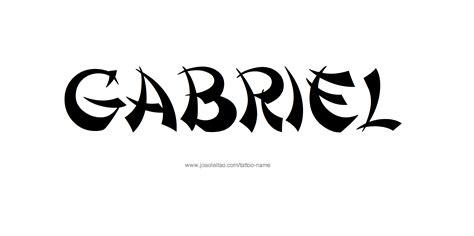 tattoo name gabriel tattoo name design u0026 generator gabriel name tattoo