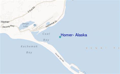 Alaska Tide Tables by Homer Alaska Tide Station Location Guide