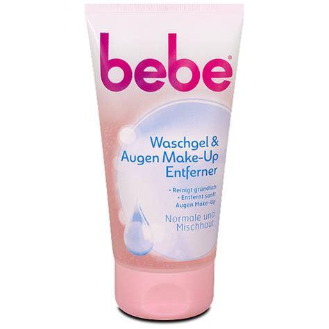 Make Up Caring bebe care waschgel augen make up entferner