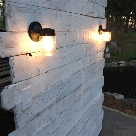 headboard with lights white pallet headboard with lights pallet furniture diy