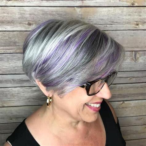 hair designs with grey streaks best 25 purple streaks ideas on pinterest eyeliner