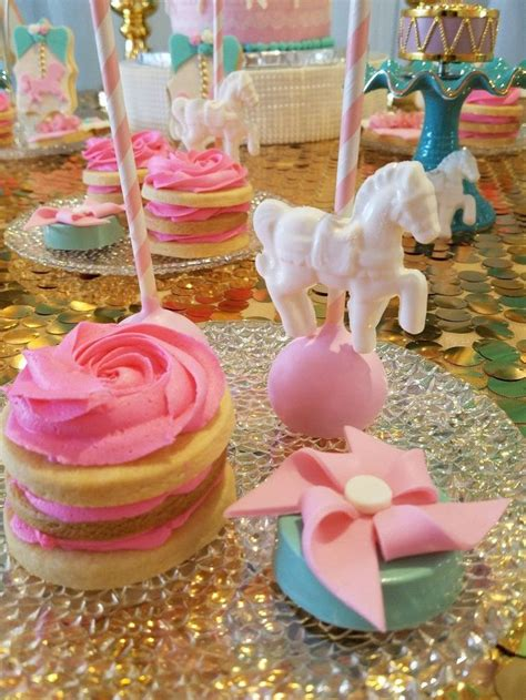 Glitter Baby Shower Theme by 19 Best Carousel Ideas Theicedsugarcookie