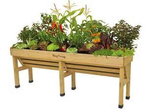 vegtrug wall hugger raised vegetable trough planters