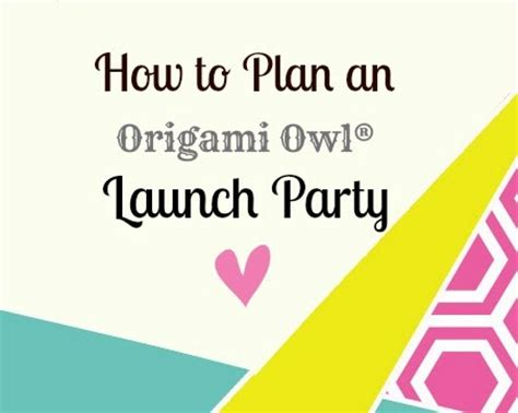 Origami Owl Launch - shellie yeomans senior team leader 7234 how to plan