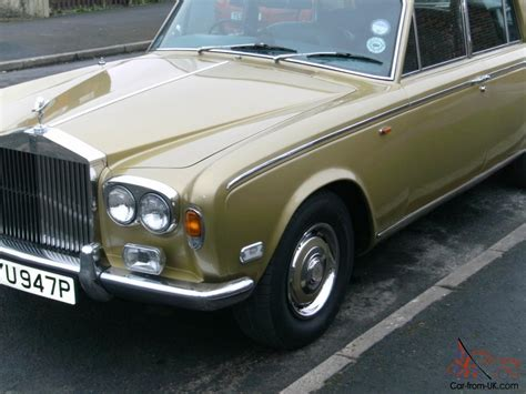 rolls royce chrome 1976 rolls royce gold mk1 chrome bumper model long mot and