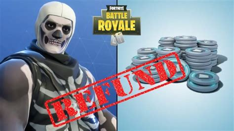 are fortnite refunds back date for the return of fortnite s cosmetic refund system