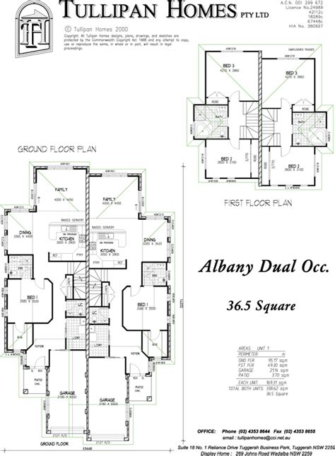 4 Bedroom Modern House Plans albany double storey duplex home design tullipan homes