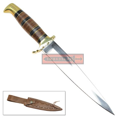 j2 stainless steel wild stag polished kitchen cutlery style knife wood handle wild stag polished j2 stainless steel spear point knife