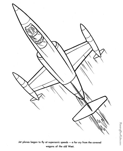 coloring page jet jet printable coloring pages