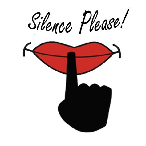 silence  words shut  quotes