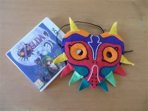 zelda felt pattern masque de majora la l 233 gende de zelda masque en feutrine