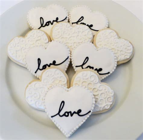 Bridal Shower Favors Cookies by Wedding Or Bridal Shower Decorated Cookie Favors 1