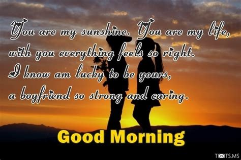 good morning quotes  boyfriend wishes messages