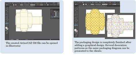 package design templates illustrator mimaki introduces packaging design cad software artioscad