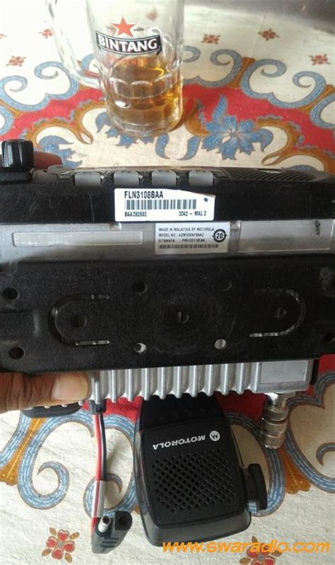 Mororola Gm 3688 Vhf dijual motorola gm3688 vhf tipe 25w sehat dan normal 2 unit swaradio