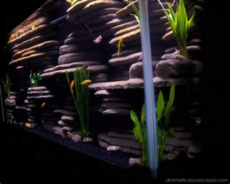Aquascapes Play by Dramatic Aquascapes Diy Aquarium Background